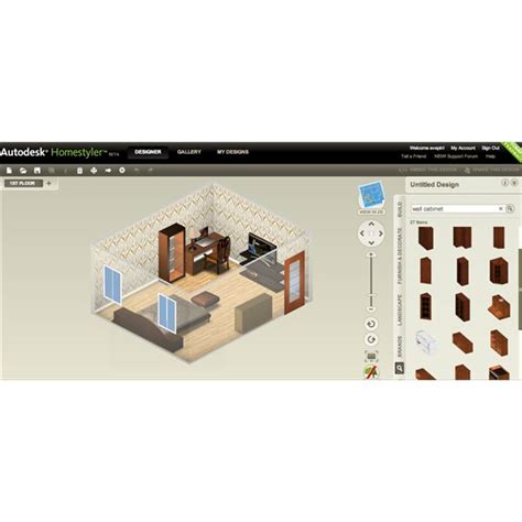 homestyler version home office design software for home owners and professionals
