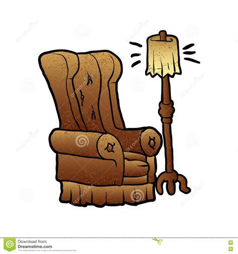 cartoon armchair armchair cartoon stock vector image 71722302