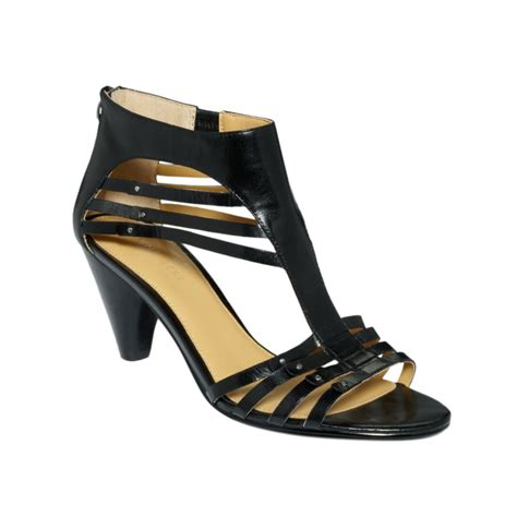 nine west sandals nine west forsake sandals in black lyst