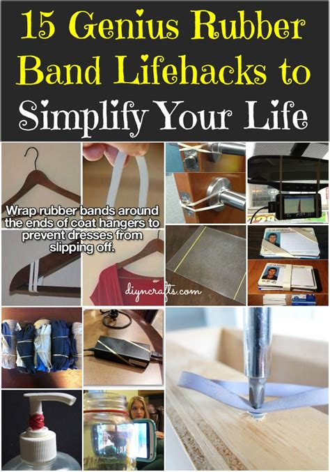 diy life hack 15 genius rubber band lifehacks to simplify your life