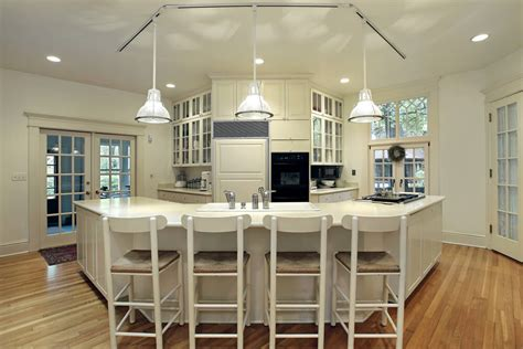island in a kitchen 32 luxury kitchen island ideas designs plans