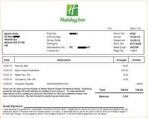 hotel receipt template 10 hotel receipt template invoice template