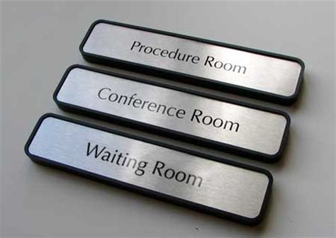 room name signs waiting room signs office signs personalized doctors office door name plates