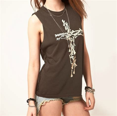 T Shirt Printing Cross printing cross sleeveless t shirt on luulla