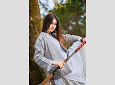 -KingArthur采集到Cosplay&Lolita&汉服&古风(286图)_花瓣 | 妹子 ... Japanese Katana Sword White