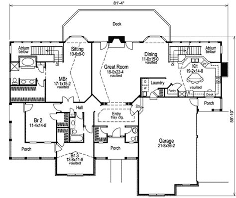 atrium floor plan double atrium embraces the sun 5719ha architectural