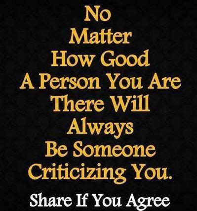 a sensible wo man knows you cant please everybody qcs