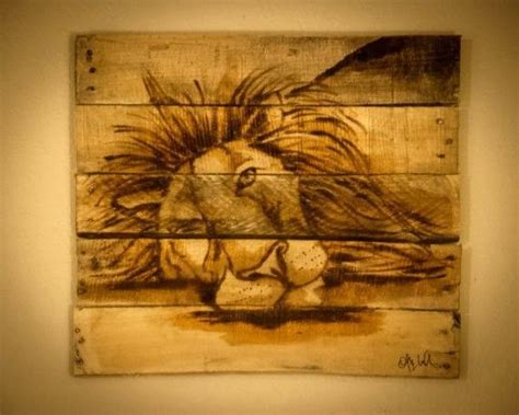 beautiful Painting Wood Furniture Ideas #2: Pallet-Painting-wall-art2.jpeg