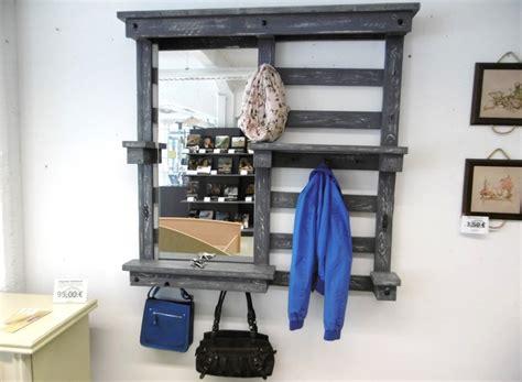 Garderobe Aus Paletten Mit Spiegel garderobe mit spiegel