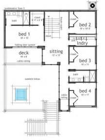 house plans with window walls planos de casa de playa