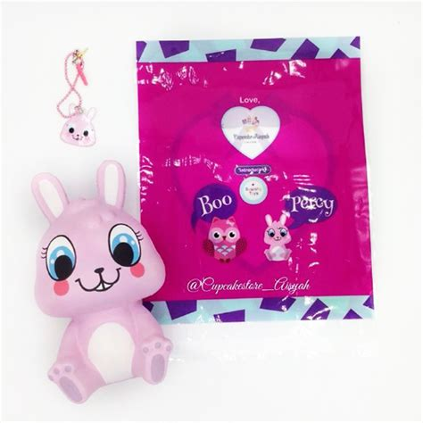 percy the bunny squishy high quality scented licensed