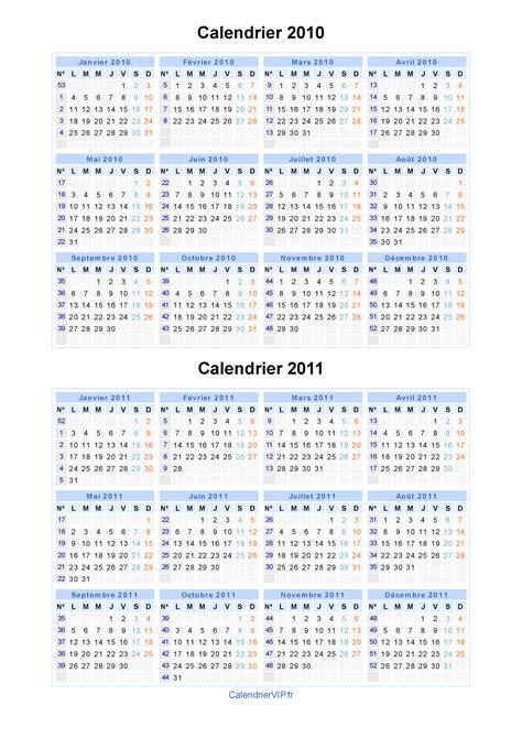 Calendrier 2011 Excel Calendrier 2010 2011 224 Imprimer Gratuit En Pdf Et Excel
