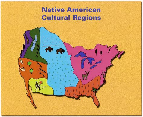 american tribe map by regions american cultural regions thinglink