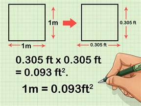 1 meter to square how to convert square meters to square feet and vice versa