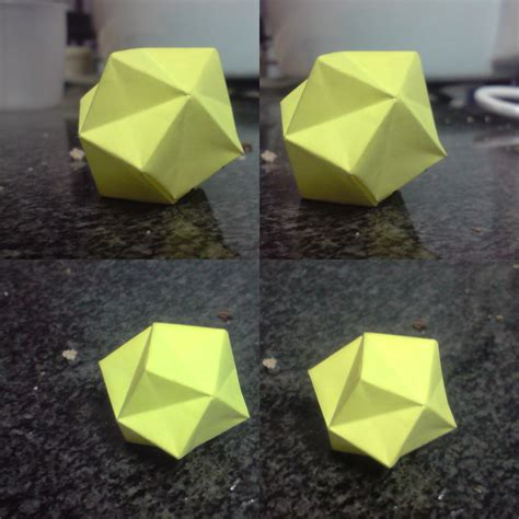 Stellated Octahedron Origami - stellated octahedron 1 square by spiritofcat on deviantart