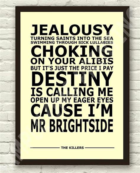 lyrics mr the killers lyric quotes quotesgram