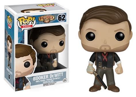 Funko Pop Booker Dewitt Skyhook Bioshock Infinite 2015 funko pop bioshock vinyl figures info checklist more