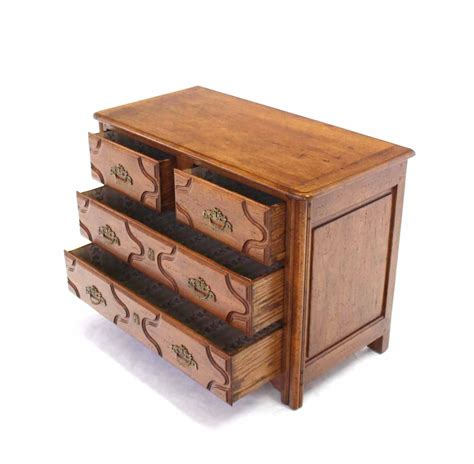 Solid Wood Chest Of Drawers by Solid Wood Three Drawer Chest Of Drawers For Sale