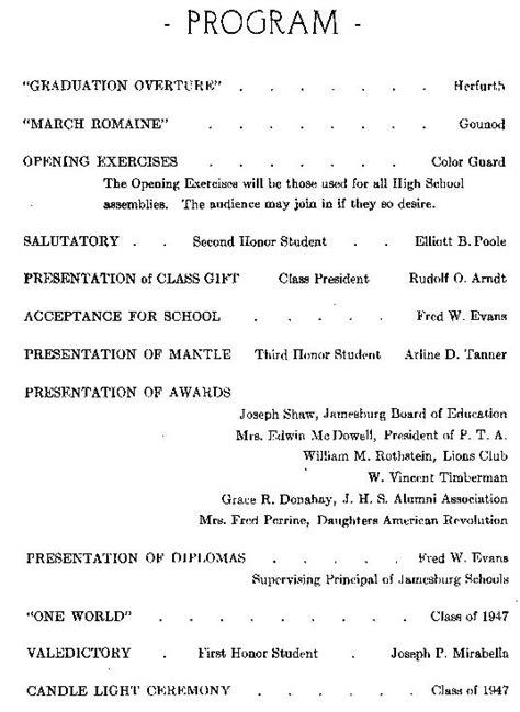 Graduation Ceremony Program Template Invitation Template Graduation Ceremony Program Sle