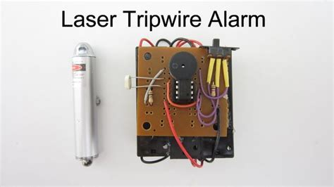 make it yourself laser trip wire alarm wpsecurity