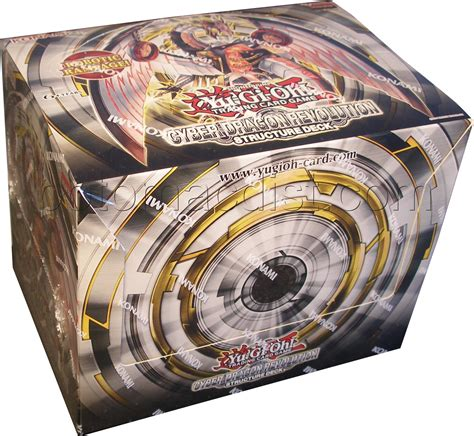 cyber structure deck yu gi oh cyber revolut structure deck box