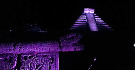 darkness and light tour chichen itza light sound tour riviera maya