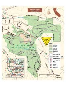 California State Park Map by Park Brochure Amp Map Empire Mine Park Association