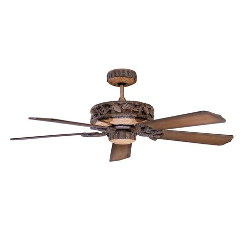 reclaimed wood ceiling fan illumine aumbrie 52 in reclaimed wood indoor outdoor