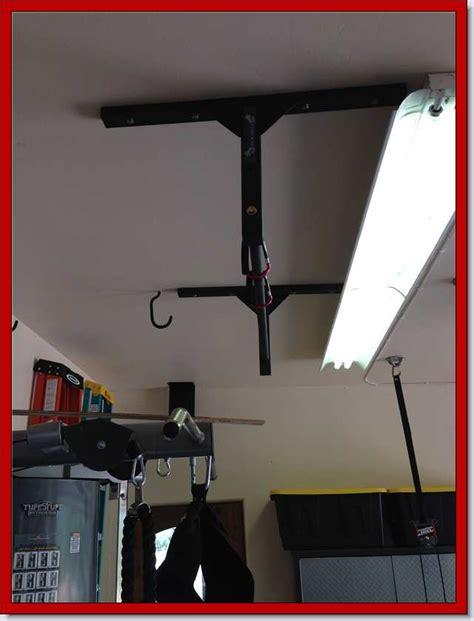 Garage Pull Up Bar by Pull Up Bar Workouts Exercises And Tips From Stud Bar