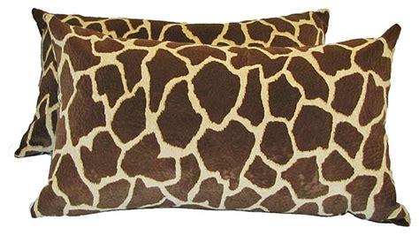 Giraffe Pillow by Giraffe Print Pillow