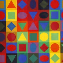 victor vasarely planetary folklore serigraph expertissim