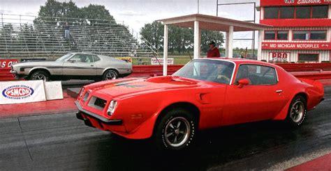 pontiac trans am 455 1971 ford mustang 351 vs 1974 pontiac trans am sd 455