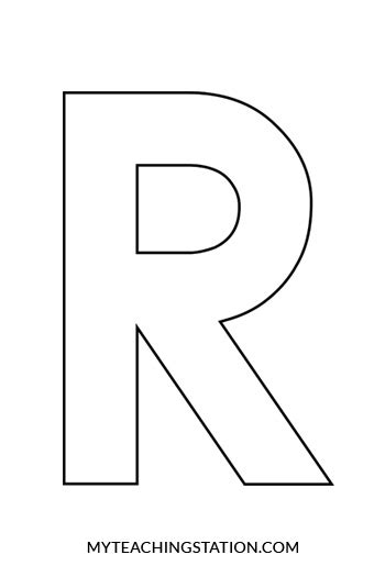 letter r craft raccoon myteachingstation com