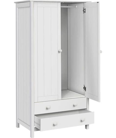 Drawer Dividers Argos by Buy Scandinavia 2 Door 2 Drawer Wardrobe White