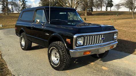 how to work on cars 1995 chevrolet k5 blazer electronic valve timing why did this 1971 chevy k5 blazer sell for 220k
