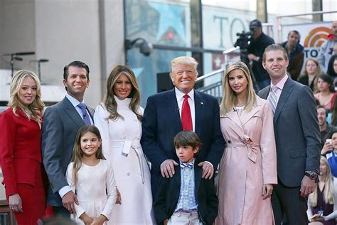 donald trump family pictures the trump family interview on good morning america the