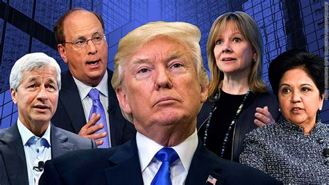 trump drapes trump s business panels collapse after president s remarks