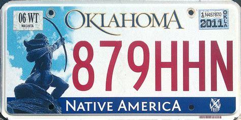 Oklahoma Vanity Plates Oklahoma Y2k 3