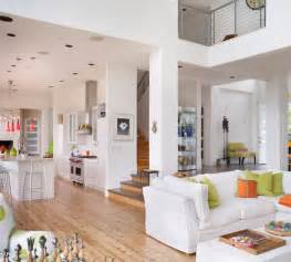 open plan flooring open floor plan uses orange and green along with white