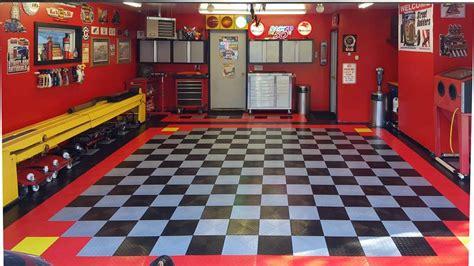 racedeck xl diamond plate tread garage shop flooring