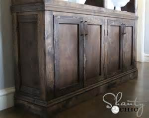 How To Make A Sideboard Restoration Hardware Inspired Sideboard Shanty 2 Chic
