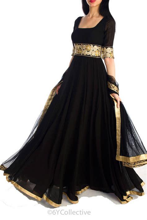 design dress in black 9 designer neon anarkali suits to flaunt colors