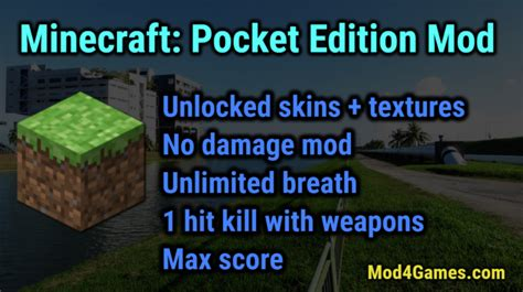 x mod game sans jailbreak minecraft pocket edition ios app ipa build amazing
