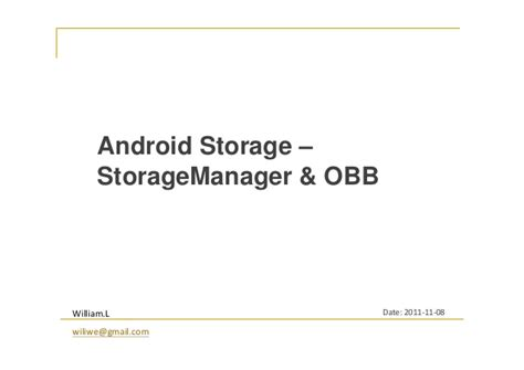 android obb android storage storagemanager obb
