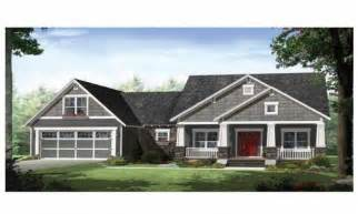Single Story Ranch Style House Plans single story craftsman style homes craftsman style ranch house plans