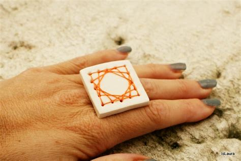 come fare il fimo in casa come fare anello in fimo con ricamo tutorial