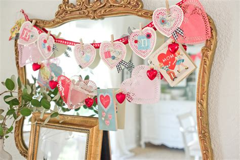 valentine s day decorations domestic fashionista vintage and handmade inspired