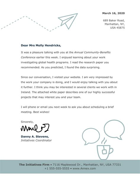 personal letterhead sample 5 documents in pdf