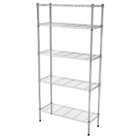 Hdx 5 Shelf by Hdx 5 Shelf 72 In H X 36 In W X 14 In D Wire Unit In