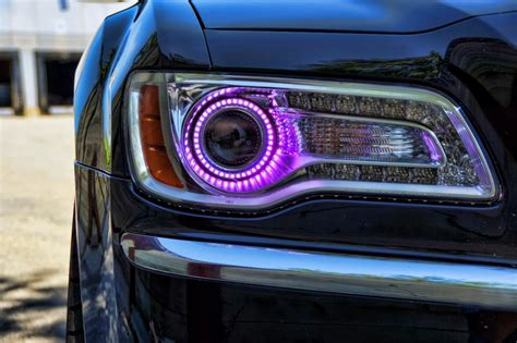 Purple Halo Lights by Purple 300 Chrysler Images